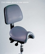 Saddle Chair w/Back